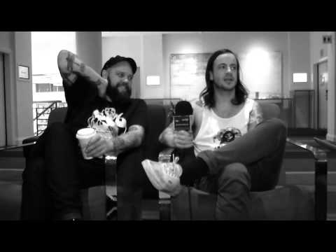 Cancer Bats Interview (Part One) at Soundwave Festival 2013