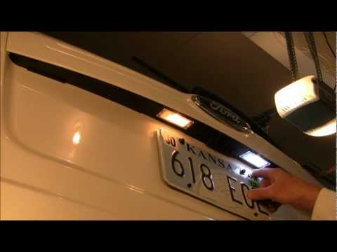 LED License Plate Lights - LED Bulb Replacement