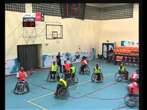 Dubai Club For The Disabled V/s Dubai Customs 10/07/2014