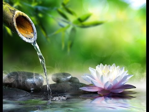 Solfeggio 528 Hz | Water Sounds | Tibetan bowls | OM Mantra ➤ Positive Healing Energy