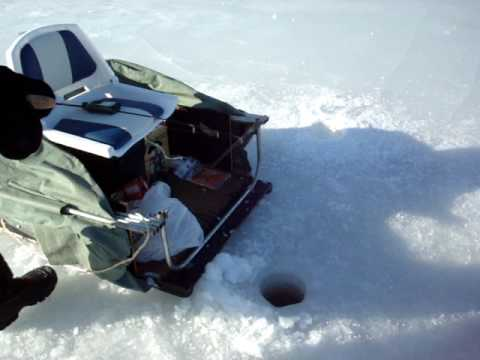 New Hampshire Ice Fishing March 09