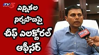 CEO Rajat Kumar Face to Face Over Upcoming Elections | Elections With TV5