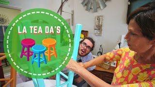 DIY Furniture Restoration Classes | BullheadBytheHorns | La Tea Da's Paint Boutique