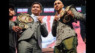 Pacquiao vs Thurman Preview