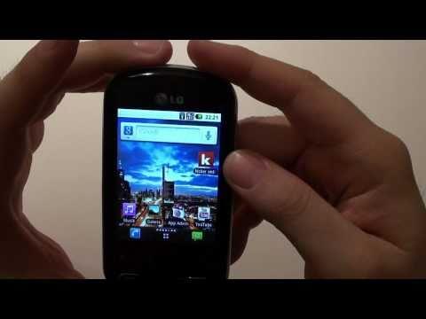 Videovorstellung: LG P350 OPTIMUS Me