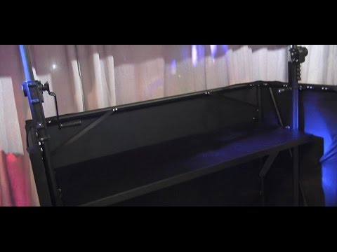 DuraTruss Deck Stand / DJ Booth Prototype at NAMM 2016