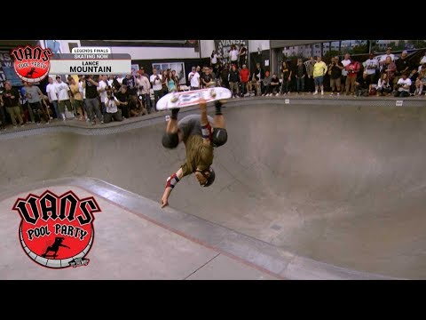 2019 Vans Pool Party: Lance Mountain 1st Place Run - Legends Division