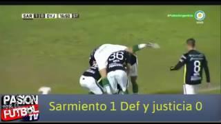Сармиенто : Дефенса и Юст.