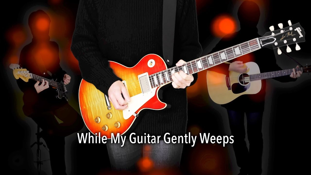 The Beatles While My Guitar Gently Weeps Chords 482291 Pacte