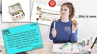 ARTIST TESTS PINTEREST ART HACKS?!