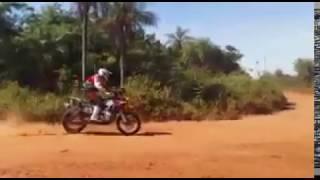 Dakar 2017 - Stage 1 Bike Big Crash
