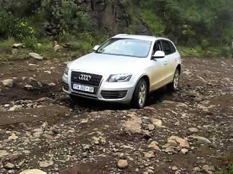 Audi Q5 Offroad up Sani Pass. Southern Africa