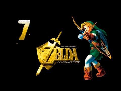 The Legend of Zelda:Ocarina of Time 7. rész Megvan a csajunk( na meg a 3. kő) :-)