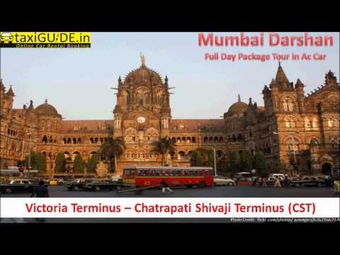 Mumbai Darshan Full Day City Sightseeing Tour Car Cab Taxi Service
