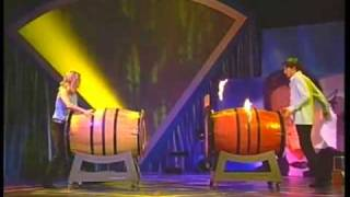 """Barricaded Barrels"" illusion"