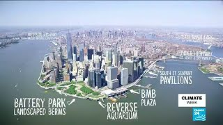 US - New York, a metropolis surrounded by water increasingly under threat
