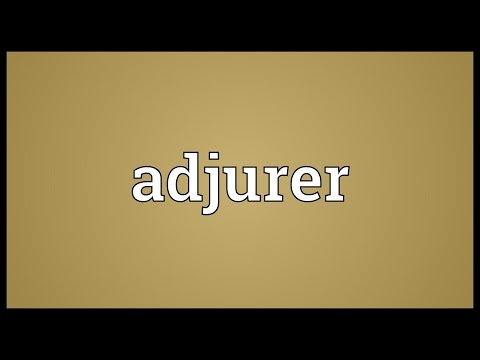 Header of Adjurer