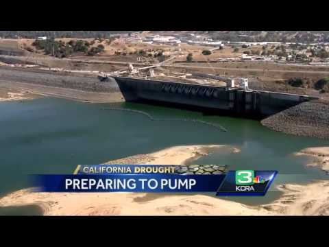 Work begins to keep water flowing from Folsom Dam