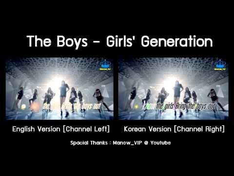 [m v] The Boys - Snsd [korean + English] video