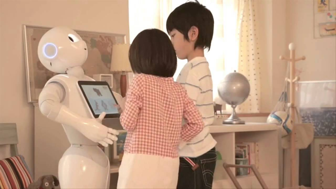 [Emotional Robot Pepper goes on Sale  to public in Japan] Video