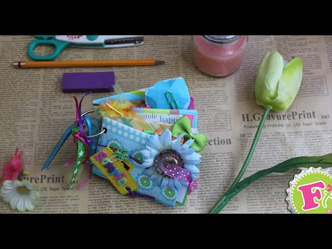 SAN VALENTIN: Mini Album + Scrapbook + ECOLOGICO