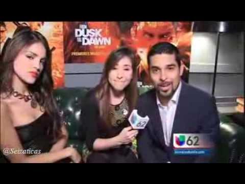 Entrevista a Eiza González y Wilmer Valderrama en la premiere de From Dusk Till Dawn