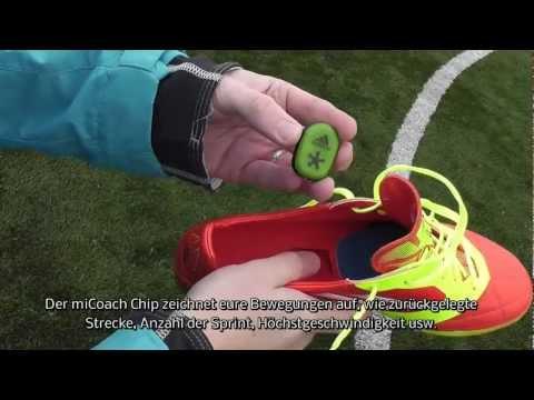 Test: Adidas F50 Adizero miCoach Bundle | Tutorial für iPhone/iPod/iPad App