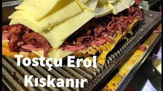 Tostçu Erol'u kıskandıracak Tost (evde atom tost nasil yapilir)