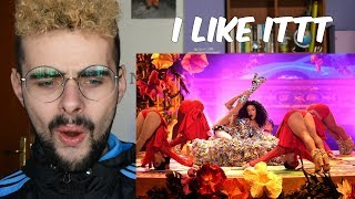 CARDI B, J BALVIN, BAD BUNNY - I LIKE IT American Music Awards 2018 |REACTION|