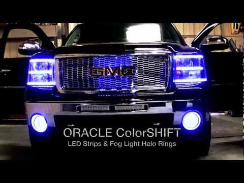 GMC Sierra Custom ORACLE Lighting Installation by Advanced Automotive Concepts