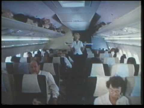 Promo film made in 1964 showcasing BOAC's new VC10 aircraft. This film follows the VC10 on its inaugural flight from London to Johannesburg, along with vario...