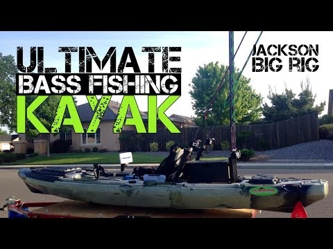 Ultimate Bass Fishing Kayak; Jackson Big Rig (2014)