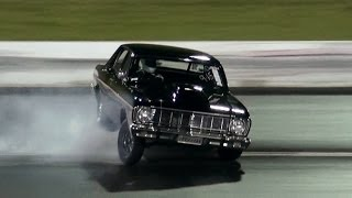 V8 FORD GETS OUT OF SHAPE AT APSA ROUND 2 SYDNEY DRAGWAY 17.5.2014