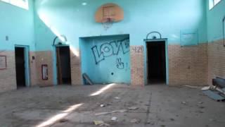 Abandoned Topeka Psychiatric hospital complex