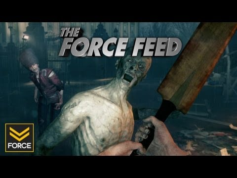 The Force Feed - ZombiU Scares Your Pants Off!