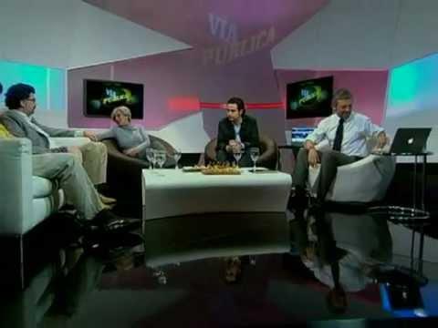 ¿Despenalizar o legalizar la marihuana en Chile? / Vía Pública - 24 HORAS TVN 2012