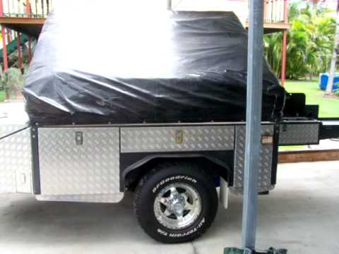 camper trailer/toy hauler part 1