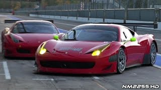 INSANE Ferrari 458 GT3 Sound on Track!