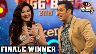 Gauhar Khan WINNER GRAND FINALE Bigg Boss 7 28th December 2013 EPISODE