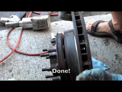 Toyota Land Cruiser front Knuckle rebuild tutorial #2 installation
