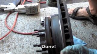 Toyota Land Cruiser front Knuckle rebuild tutorial #2 installation