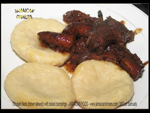 CHICKEN NECK Brown Stewed - Affordable Meal less US$1 Daily