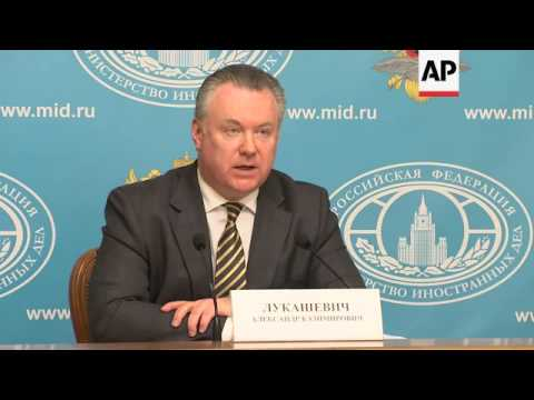 Moscow warns US against arming Ukraine