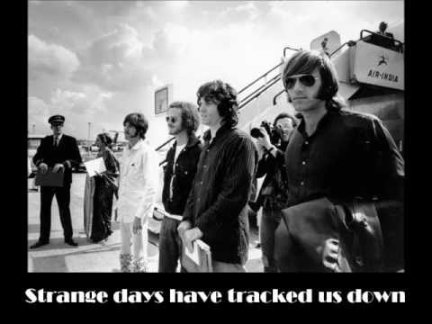 The Doors - Strange Days (with lyrics)