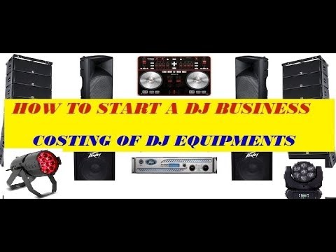 HOW TO START A DJ BUSINESS // DJ EQUIPMENT PRICING //  EQUIPMENT EXPLANATION IN HINDI