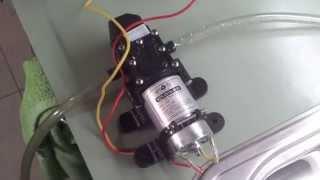 Quick review: $24 ebay water pump, 100 PSI 12V for caravans etc