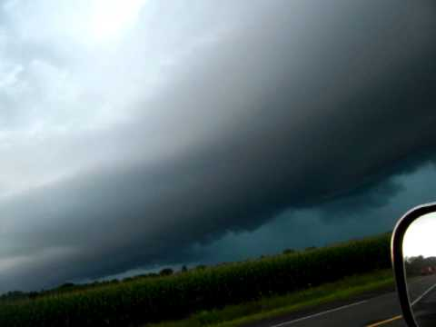 Severe Thunderstorm near Danbury, WI Aug 13th 2010 3