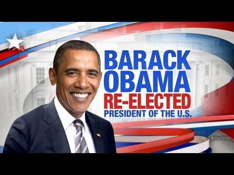 barack obama re elected president youtube