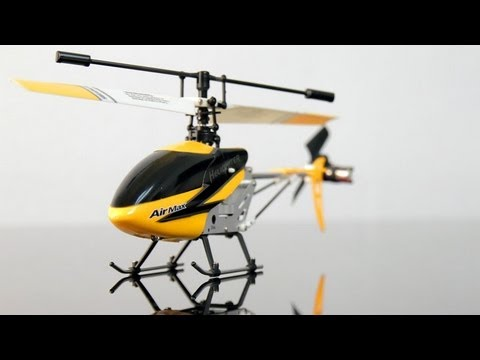 World's First 3ch Fixed Pitch Micro Airmax 9103 Rc Helicopter Review