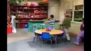 Watch Barney Clean Up video